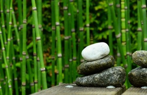 stones-bamboo