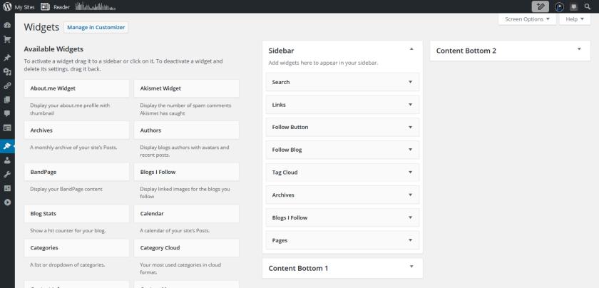 widgets-selections