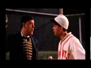 Field of Dreams ump telling young player to watch out