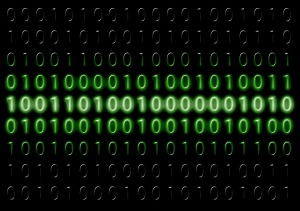 binary code - lines of 0s and 1s