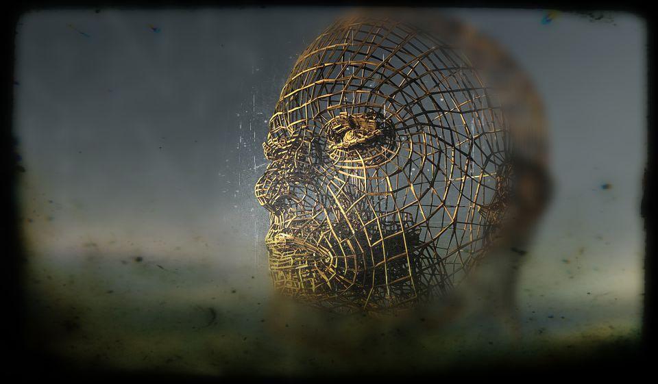 head form of metal mesh