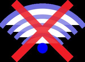 offline no wireless symbol